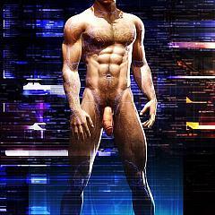 Gay toon.