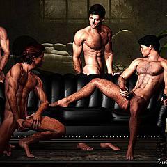Gay guys.