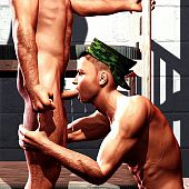 Homosexual guys love engulfing.