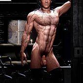 Built hawt gay muscular.