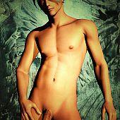 Nice-looking homosexuals slim beautiful.