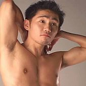 Homosexual oriental chap sperm.