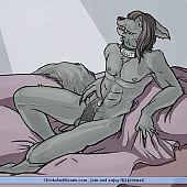 Furry-style homo comics gay.
