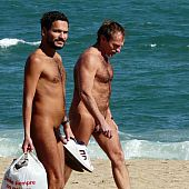 Homo nudist beach exclusive.