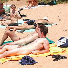 Gay beach.