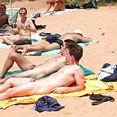 Beach hidden camera.
