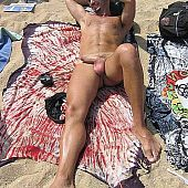Stripped guys nudist beach.