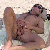 Guys bare beach nude.