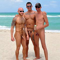 Gay chaps.