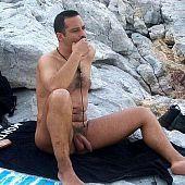 Beach nude.