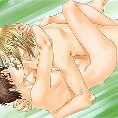 Gay manga.