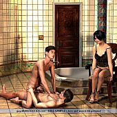 Homosexual s&m pleasures 3d pictures.