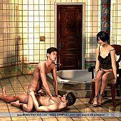 Homosexual s&m pleasures 3d pictures.
