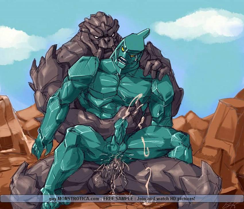 Hentai Gay Monster Cartoon Video