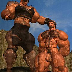 Gay muscle.