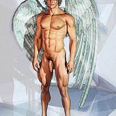 Winged angle boys nude.