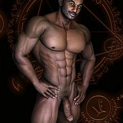 Gay nude.