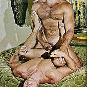 Vintage homo porn intense.