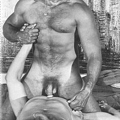 Gay porn.
